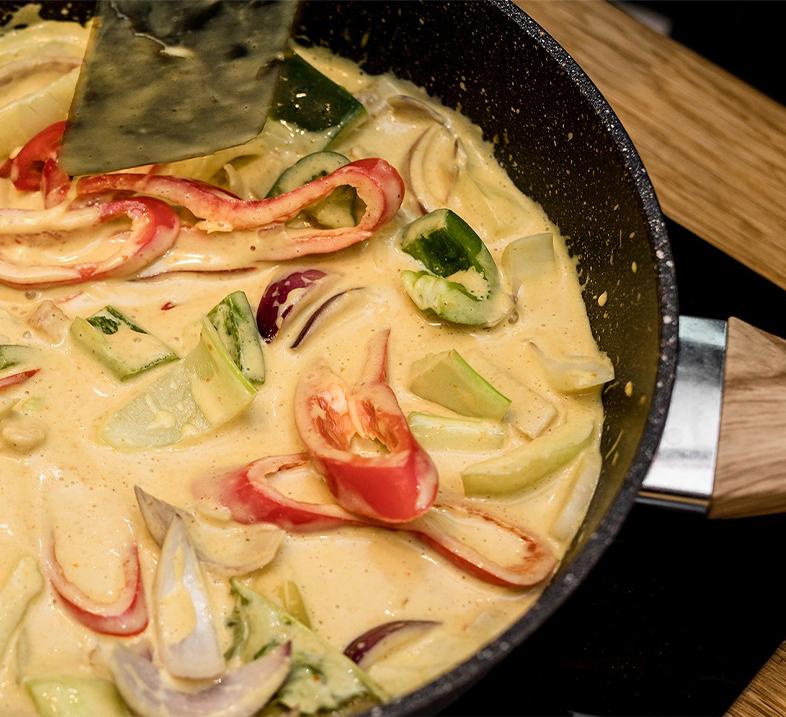 GOPLANT Roślinny Kurczak Curry