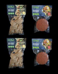 Pakiet MIX: 2x 'kurczak', 2x 'wołowina' Goplant